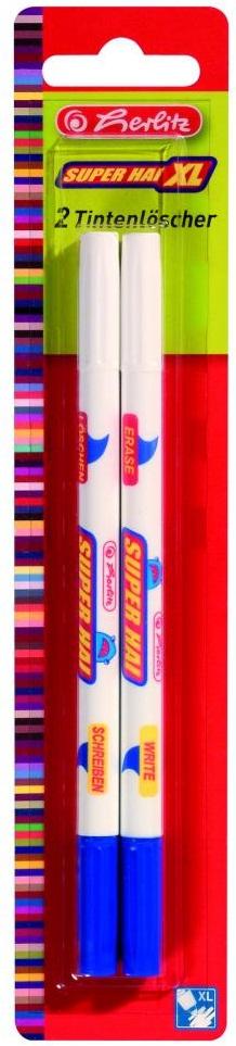 Creion corector cu rescriere 2mm 2 buc/set HERLITZ Super Hai