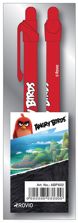 Pix cu mecanism si grip 2 buc./blister ANGRY BIRDS