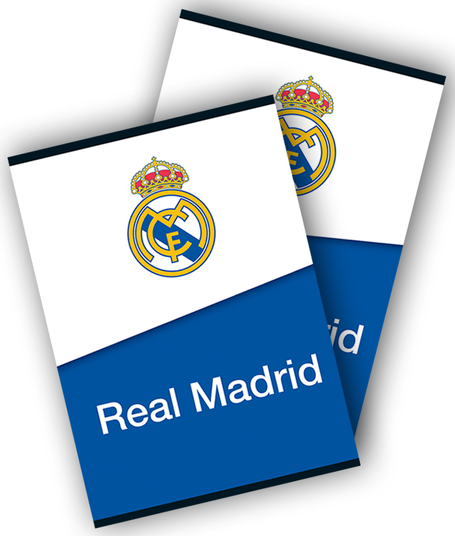Caiet A4 80 file dictando REAL MADRID