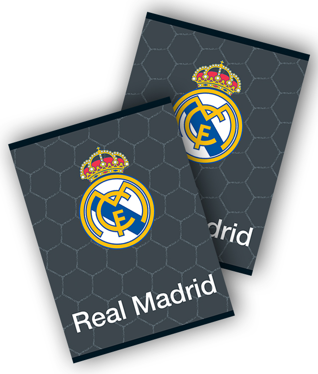 Caiet A4 80 file matematica REAL MADRID