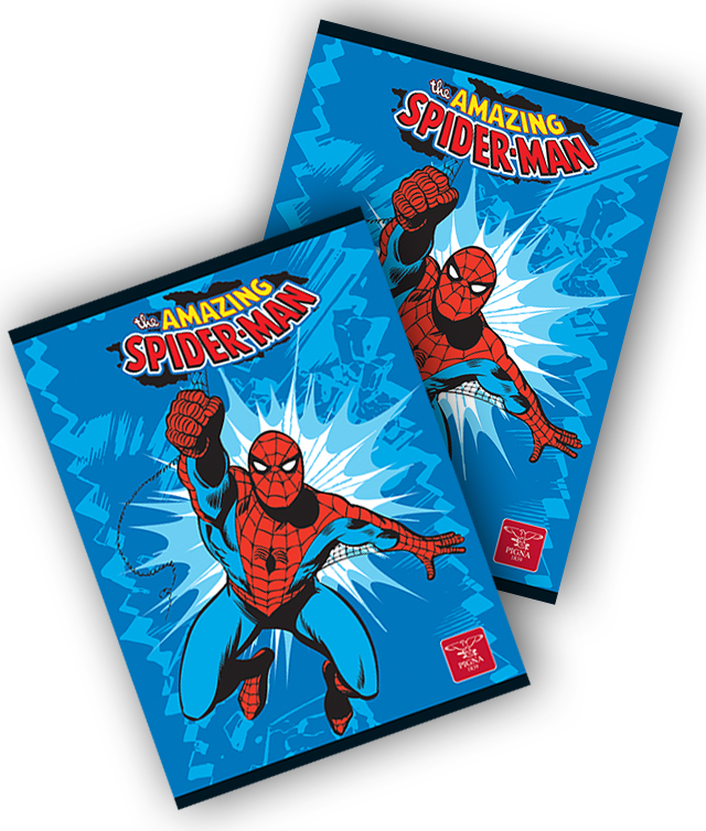Caiet A5 24 file tip 2 SPIDERMAN