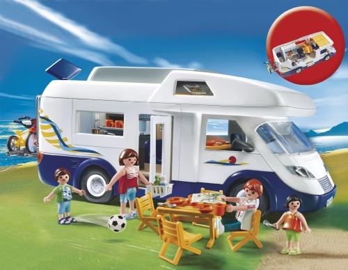 Imagine indisponibila pentru Rulota pentru camping PLAYMOBIL Holidays
