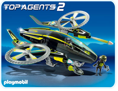 Mega elicopter PLAYMOBIL Top Agents