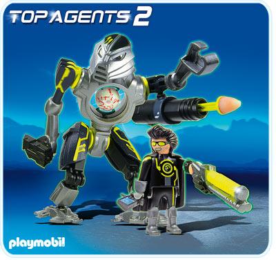 Mega Robot PLAYMOBIL Top Agents
