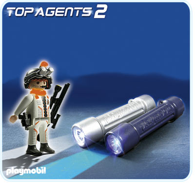 Lumini pentru spioni PLAYMOBIL Top Agents
