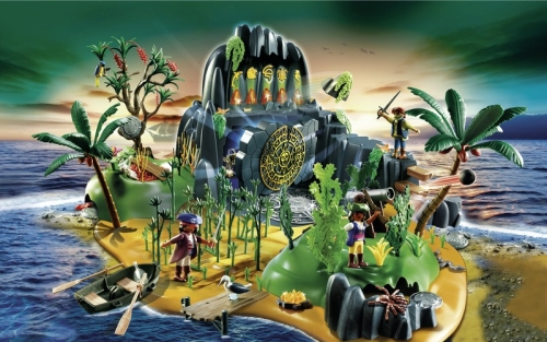 Insula comorii piratilor PLAYMOBIL Pirates