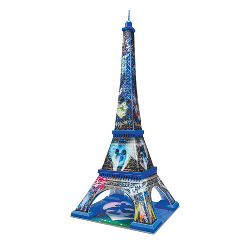 Puzzle 3D Turnul Eiffel Mickey si Minnie 216 piese RAVENSBURGER Puzzle 3D
