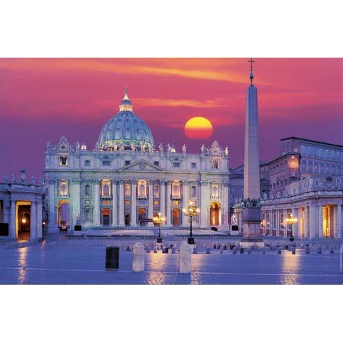 Puzzle Catedrala Sfantul Petru - Roma 3000 piese RAVENSBURGER Puzzle Adulti