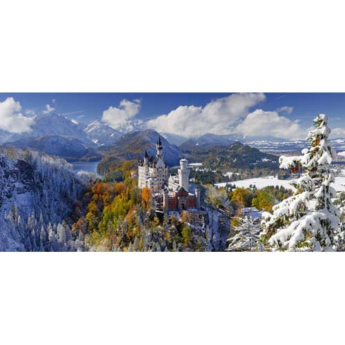 Puzzle Castelul Neuschwanstein 2000 piese RAVENSBURGER Puzzle Adulti