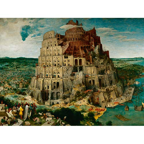 Puzzle Bruegel The Elder - Turnul Babel 5000 piese RAVENSBURGER Puzzle Adulti