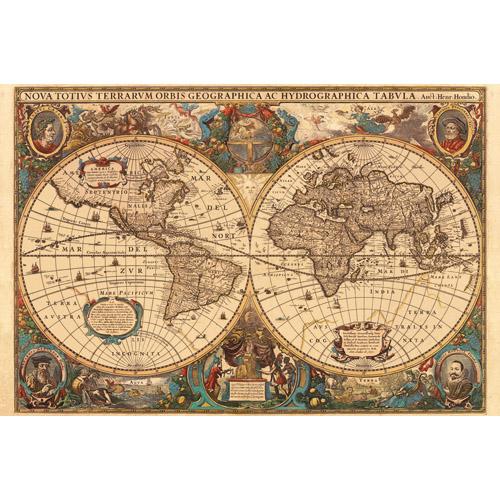 Puzzle harta antica a lumii 5000 piese RAVENSBURGER Puzzle Adulti