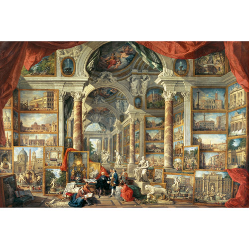 Puzzle Giovani Paolo Panini - Roma moderna 5000 piese RAVENSBURGER Puzzle Adulti