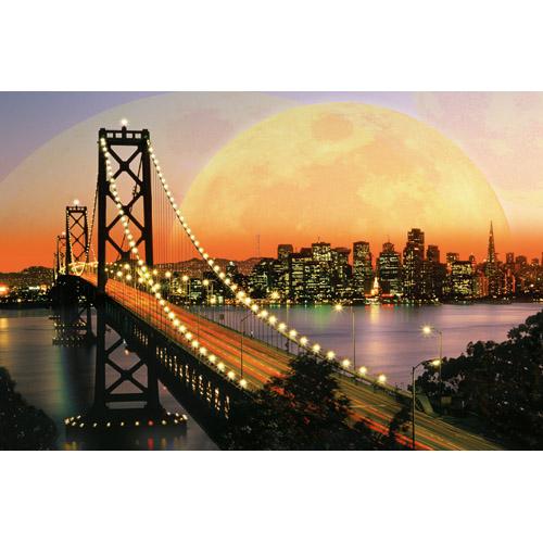 Puzzle San Francisco noaptea 3000 piese RAVENSBURGER Puzzle Adulti
