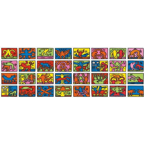 Puzzle Keith Haring - Retrospectiva dubla 32000 piese RAVENSBURGER Puzzle Adulti