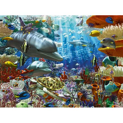 Puzzle minunile oceanului 3000 piese RAVENSBURGER Puzzle Adulti