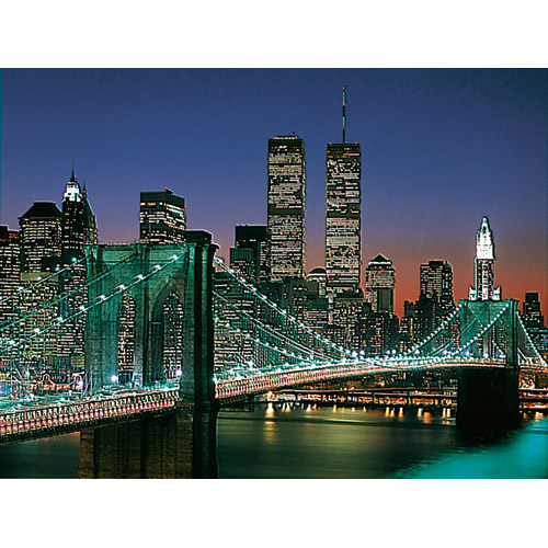 Puzzle podul Manhattan & Brooklyn 2000 piese RAVENSBURGER Puzzle Adulti