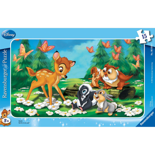Puzzle Bambi 15 piese RAVENSBURGER Puzzle Copii