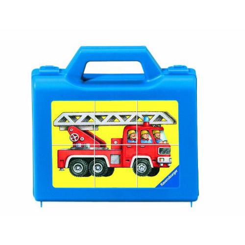 Puzzle vehicule 6 piese RAVENSBURGER Puzzle Copii