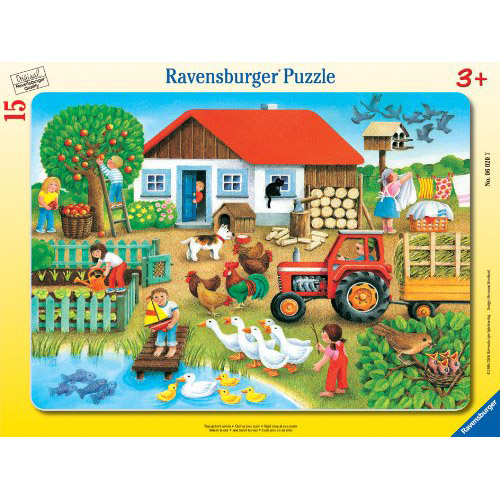 Puzzle Unde sa il asez 15 piese RAVENSBURGER Puzzle Copii