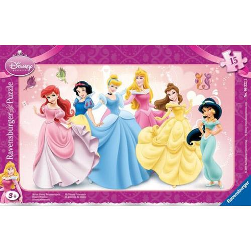 Puzzle Printesele mele Disney 15 piese RAVENSBURGER Puzzle Copii