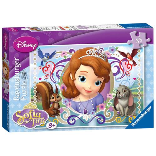 Puzzle Printesa Sofia 35 piese RAVENSBURGER Puzzle Copii