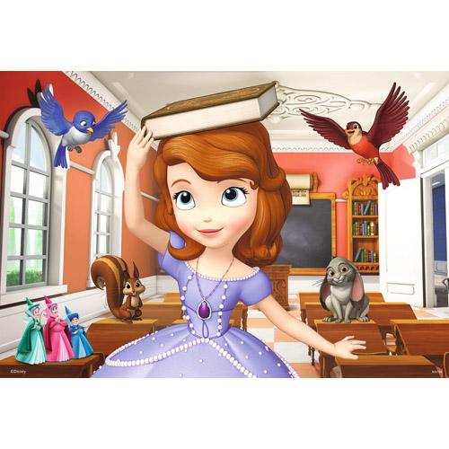 Puzzle Printesa Sofia 2x12 piese RAVENSBURGER Puzzle Copii