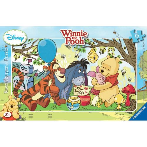 Puzzle Petrecerea lui Winnie 15 piese RAVENSBURGER Puzzle Copii