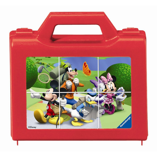 Puzzle Clubul Mickey Mouse 6 piese RAVENSBURGER Puzzle Copii