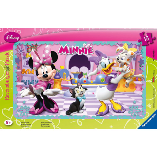 Puzzle Minnie Mouse 15 piese RAVENSBURGER Puzzle Copii