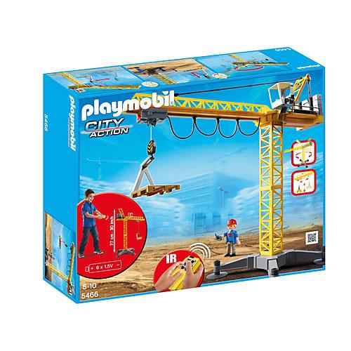 Macara cu telecomanda PLAYMOBIL Construction
