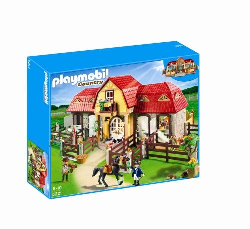 Ferma mare cu padoc PLAYMOBIL Pony Farm