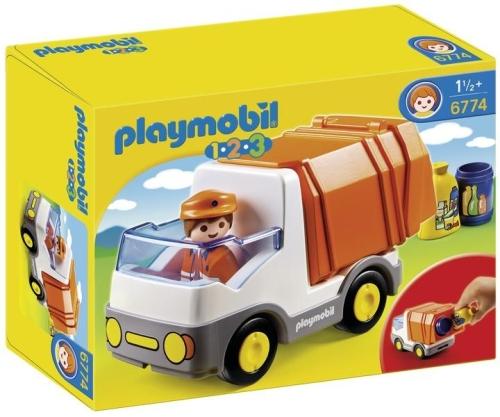 Camion deseuri PLAYMOBIL 1.2.3