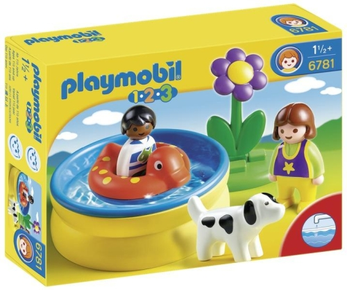 Mini piscina PLAYMOBIL 1.2.3