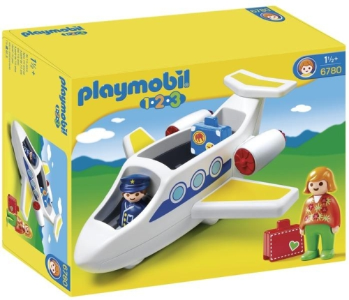 Avion personal PLAYMOBIL 1.2.3
