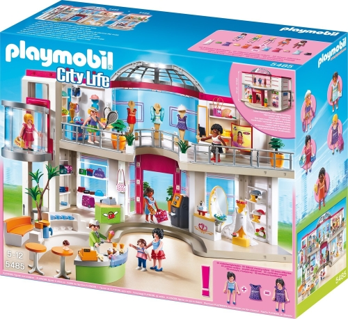 Centru comercial mobilat PLAYMOBIL Shopping