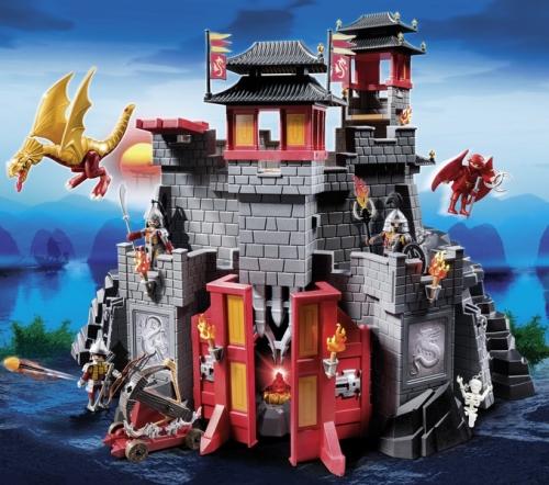 Marele castel asiatic PLAYMOBIL Dragons
