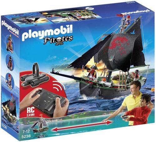 Nava piratilor cu motor subacvatic si telecomanda PLAYMOBIL Pirates