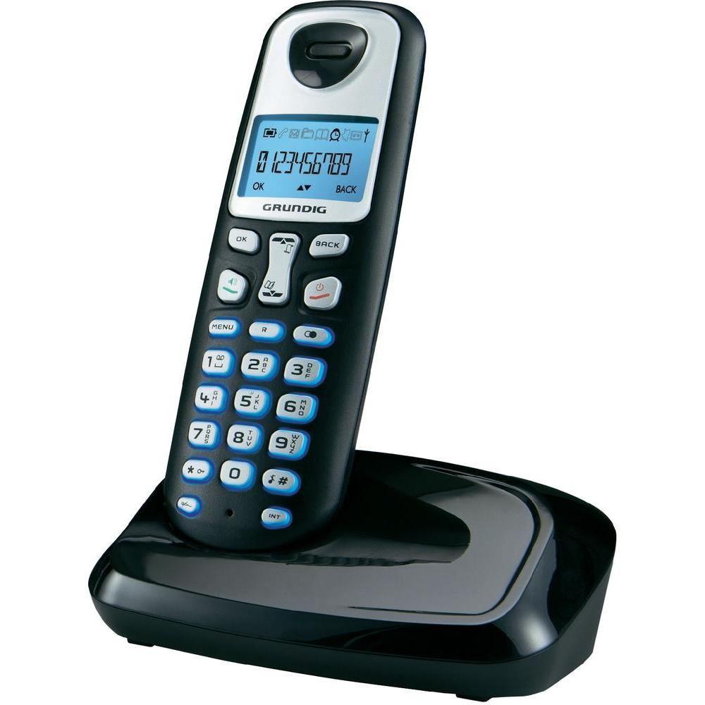 Telefon Dect Grundig D210  Negru  Fara Fir