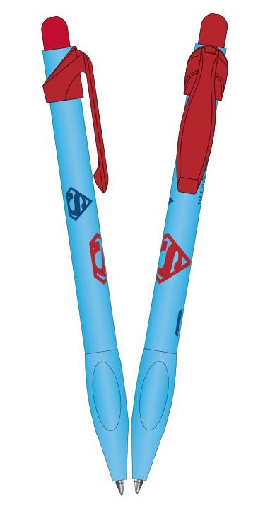 Pix cu mecanism si grip 2 buc./blister SUPERMAN