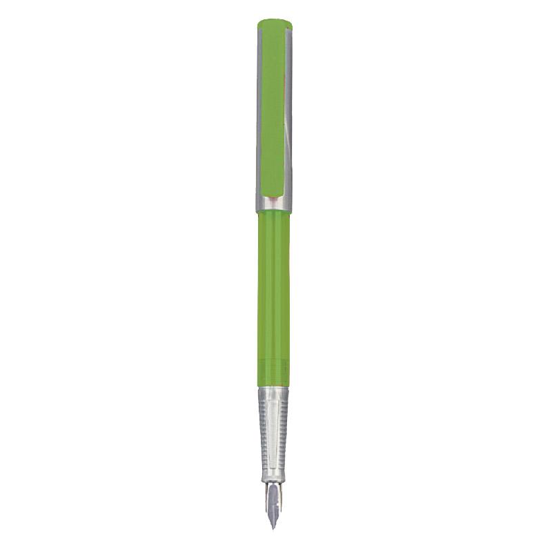 Stilou basic verde/argintiu HERLITZ