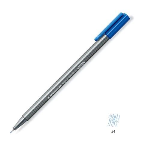 liner 0.3mm albastru ''ciel'' staedtler triplus