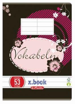 Vocabular 10 x 14cm 32 file HERLITZ