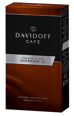 Descriere Cafea prajita si macinata, 250g, DAVIDOFF, Expresso 57