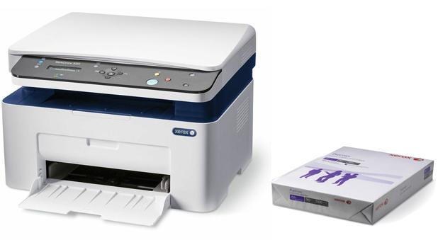Descriere Multifunctional laser monocrom XEROX WorkCentre 3025BI, A4, USB, Wi-Fi