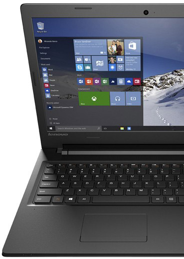 Descriere Laptop LENOVO IdeaPad 100, 15.6'' HD, Procesor Intel® Core™ i3-5005U 2.00 GHz, 4GB, 1TB, Win 10 Home