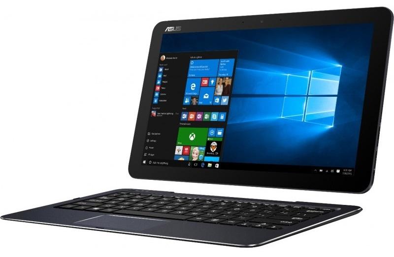 Descriere Laptop 2-in-1 ASUS Transformer Book T300 Chi, Intel Core M-5Y10, 12.5'' WQHD, 8GB, 256GB SSD, Win 10, Dark Blue