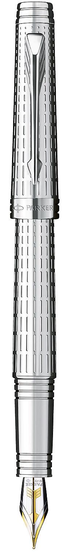 Descriere Stilou, PARKER Premier Deluxe Silver Plated ST