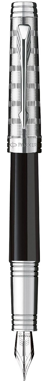 Descriere Stilou, PARKER Premier Laque Black Custom Tartan ST