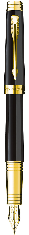 Descriere Stilou, PARKER Premier Laque Deep Black GT