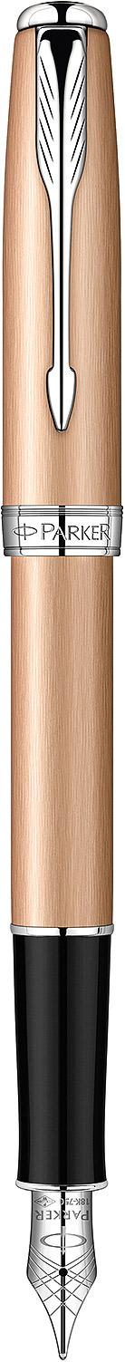 Descriere Stilou, PARKER Sonnet Premium Feminine Pink Gold